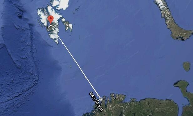 FEIL POSTKASSE: Flere lesere på Svalbard har klaget på at de får beskjed om å hente pakker i Havøysund - over 84 mil hjemmefra.