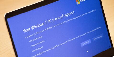 image: Nå haster det å oppgradere fra Windows 7