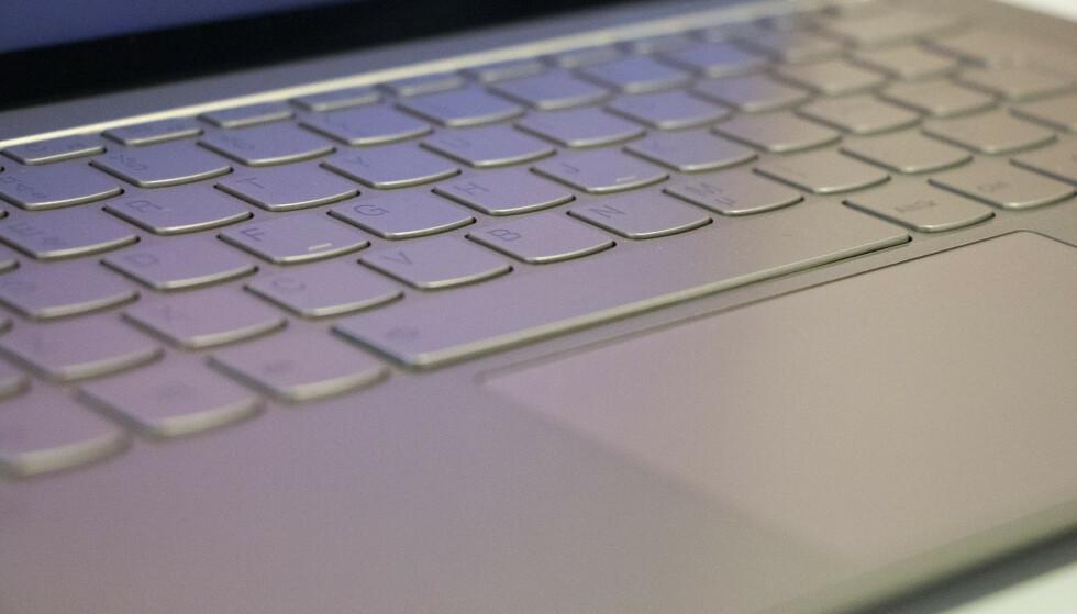S940: Litt kortere vandring på tastaturet til den minste modellen. Foto: Martin Kynningsrud Størbu