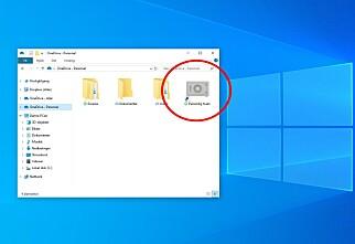 Personlig hvelv i Windows 10