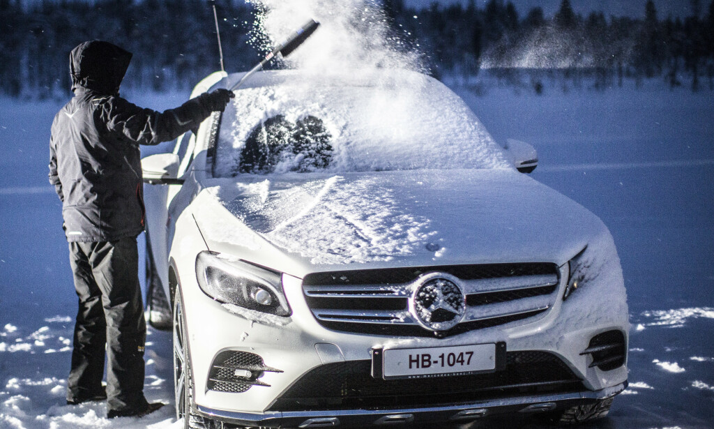 FÆRREST FEIL: Færrest feil av alle bilene i TÜV-rapporten for 2020, har SUV-en Mercedes GLC. Mange SUV-er er blant de beste bilene i undersøkelsen. Foto: Markus Pentikainen