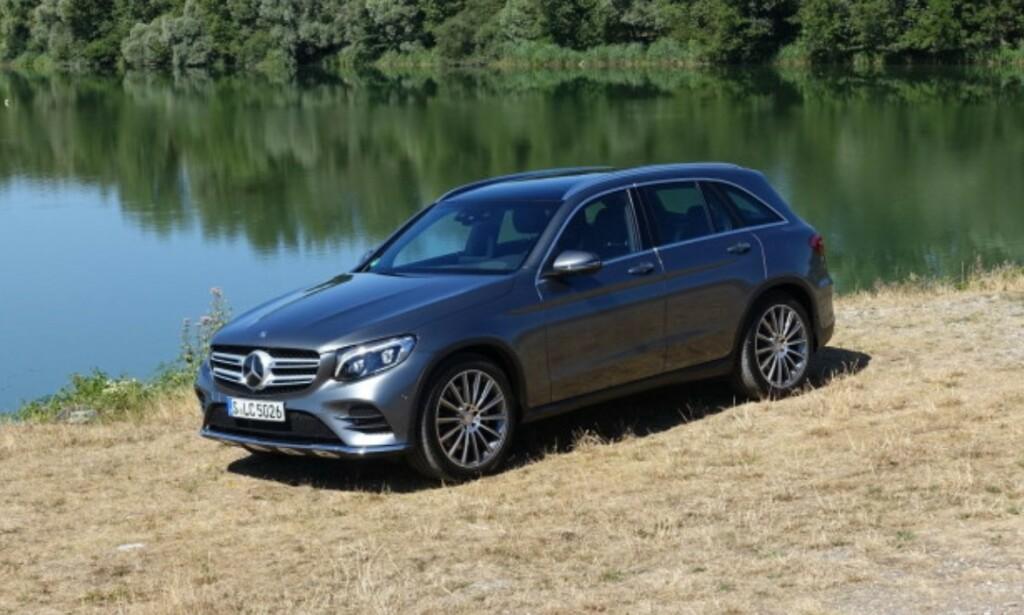 VINNER: Mercedes GLC har færrest feil. Her: 2016-modell. Foto: Knut Moberg