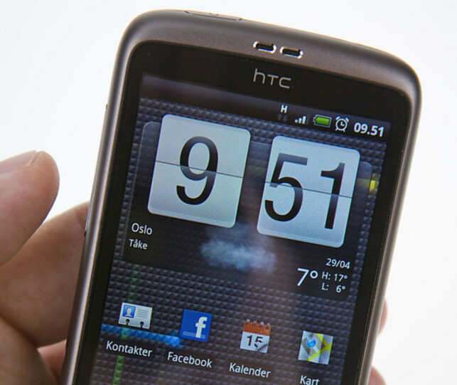 #2: HTC Desire. I 2010 konkluderte vi med at den knuste all konkurranse. Foto: Per Ervland