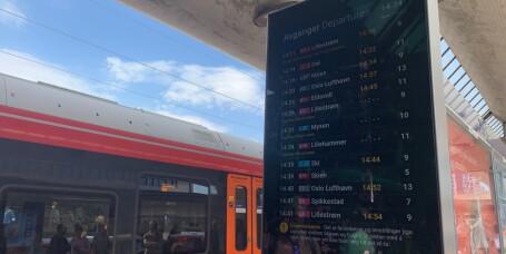 Færre togforsinkelser
