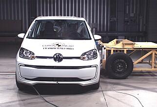 Kun tre stjerner til Volkswagen Up