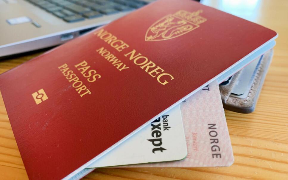 DYRERE: Passet blir dyrere fra og med 1. januar. Foto: Berit B. Njarga