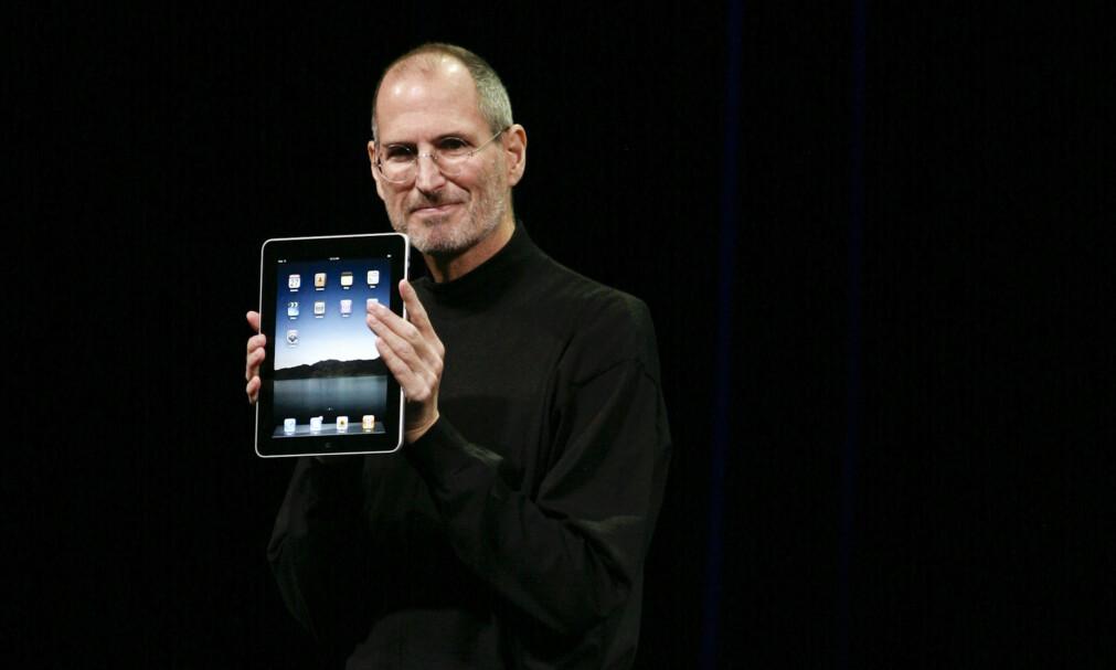 IPAD: Sjelden har verden hatt så høye forventninger til et produkt som Apples iPad. Det er ett av 30 produkter vi løfter frem fra det siste tiåret. Foto: Ryan Anson / AFP / NTB Scanpix