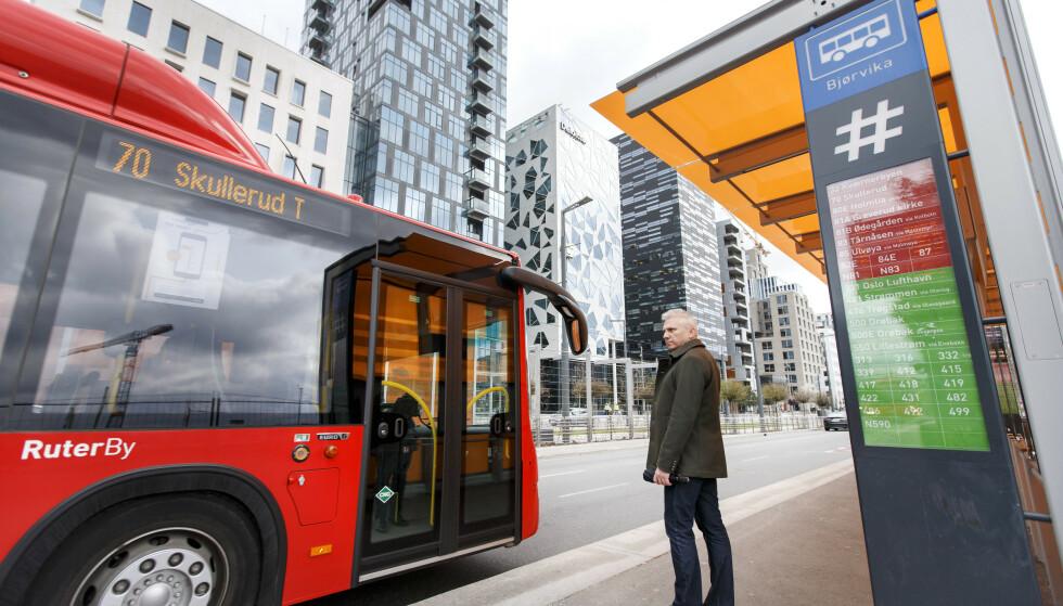 DYRERE: Det blir dyrere å reise kollektivt i hovedstaden fra neste år: Ruter øker prisene med 3 prosent. Foto: NTB scanpix