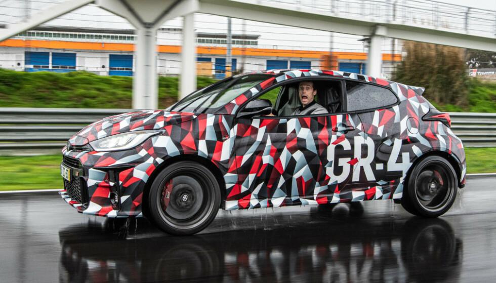 LOMMERAKETT: GR Yaris markerer en ny og mer sportslig retning fra Toyota. Foto: Jayson Fong