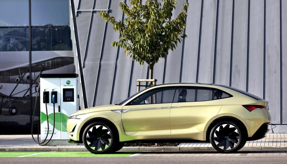 MEST SPENNENDE: Dette er etter vår mening den mest spennende, nye bilen i år. Kan du gjette hvilken? Foto: Skoda