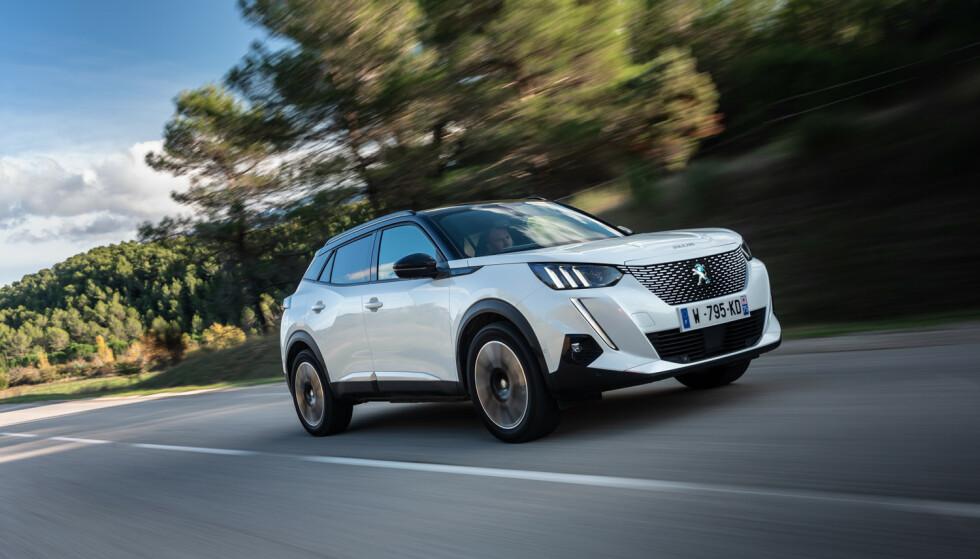 NORGES-BILEN: En rimelig, kompakt, elektrisk SUV er nettopp det norske bilkjøpere vil ha. Foto: Peugeot
