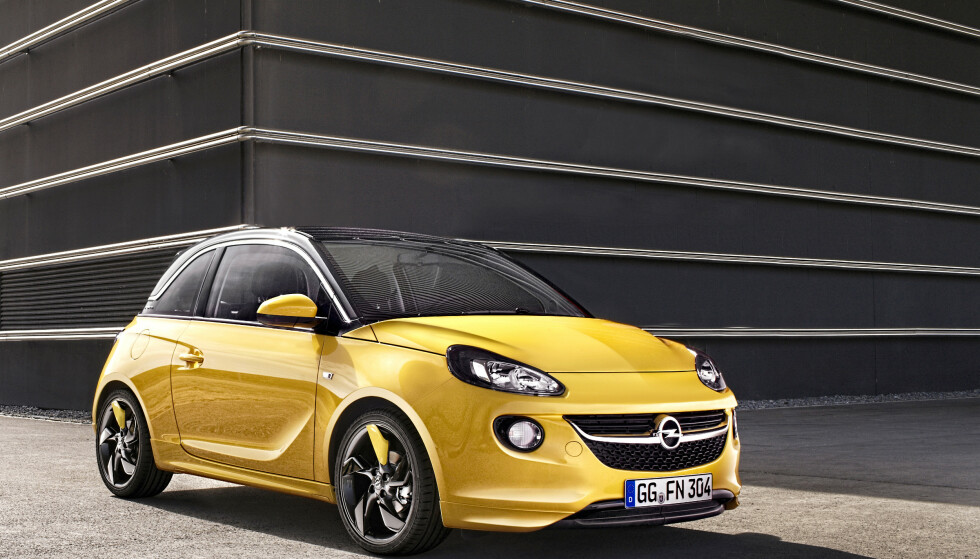 IKKE POPULÆR: Adam ble for liten og hadde for få dører. Foto: Opel