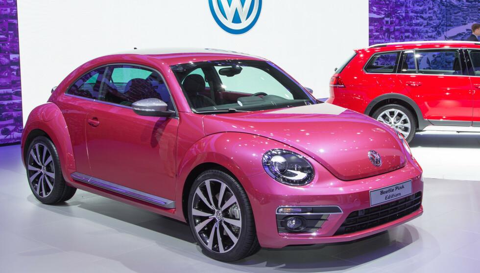 SLUTT FOR BOBLA: I sommer tok vi et endelig farvel med VW Beetle. Foto: Rune Korsvoll