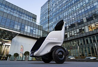 Segway lanserer selvbalanserende rullestol