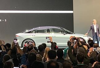 Sony overrasket alle med elbilen Vision S