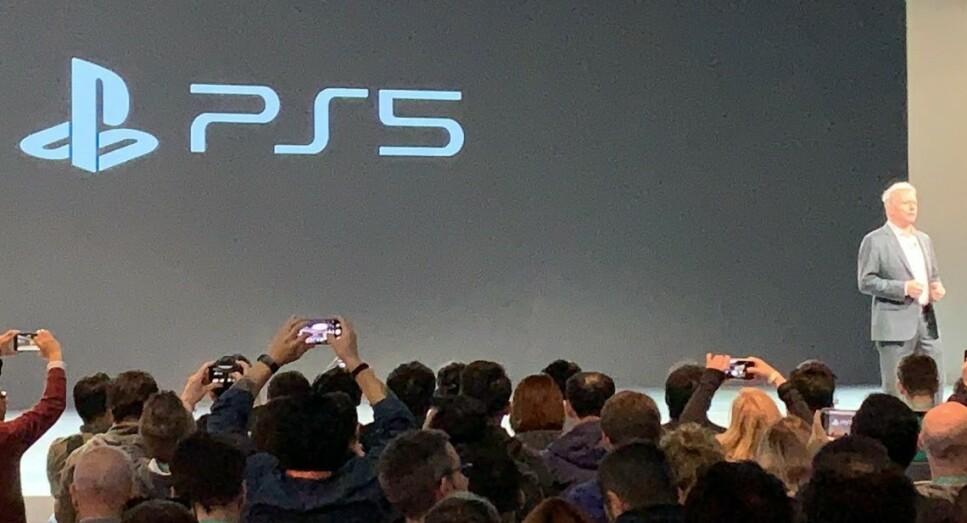 IKKE UVENTET: Slik blir den nye logoen for neste generasjon Playstation-konsoll seende ut. Foto: Bjørn Eirik Loftås