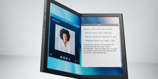 image: Dell og Lenovo med brettbare PC-er