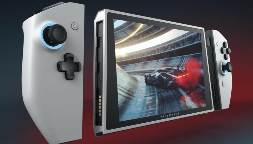 Alienware Ufo er et Nintendo Switch-liknende konsept fra Dell. Foto: Dell