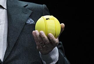 Samsungs viste frem robotball som følger etter deg