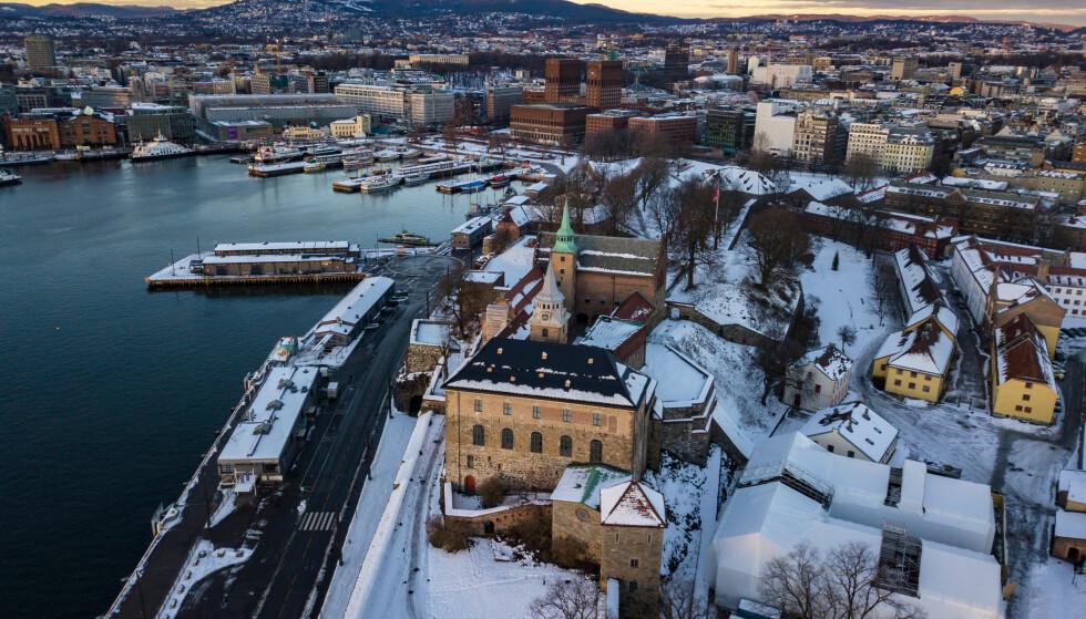 NATURLIG FORKLARING: Oslo er en by med høye boligpriser, noe som også fører til at flere osloboere har høy gjeld i forhold til inntekt. Foto: NTB Scanpix.