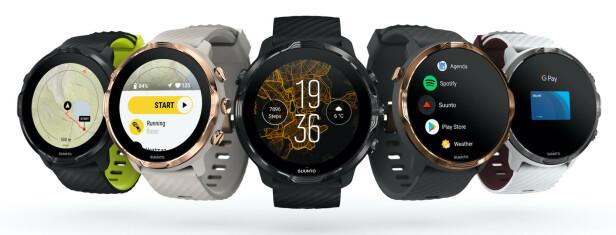 OVERRASKET: Det var litt uventet at sportsklokke-produsenten Suunto skulle lansere en Wear OS-klokke på årets CES. Suunto 7 ser ut til å bli en spennende utfordrer til de mest populære smartklokkene på markedet.