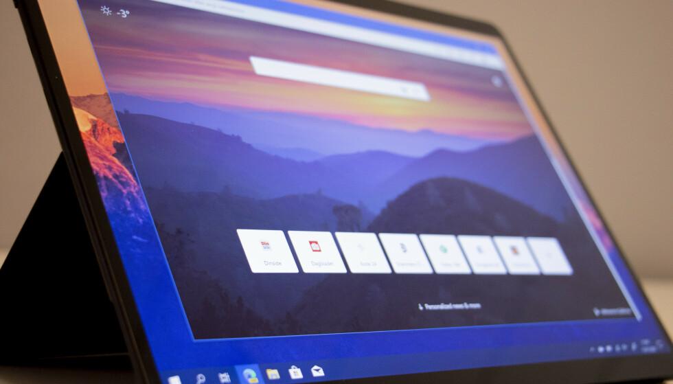 NY NETTLESER: Microsoft skroter den gamle utgaven av Edge med en ny versjon bygget på Googles Chromium. Foto: Martin Kynningsrud Størbu