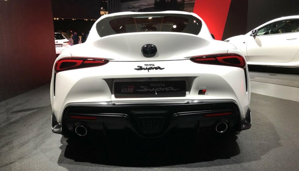 SPESIELL: Supra med 2-liters motor har ikke mange direkte konkurrenter. Nettopp av konkurransehensyn får man Supra bare som coupé og BMW Z4 bare som cabriolet. Foto: Rune M. Nesheim