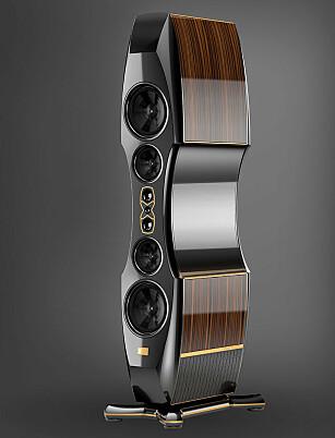 DYREST PÅ TORGET: Kharma Enigma Veyron 2 topper prislista for dyrest på Finn/torget, med en pris på 3,95 millioner kroner. Foto: produktbilde/acoustictuning
