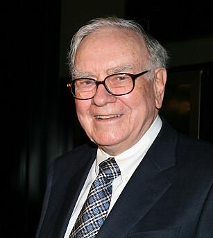 LUNSJ MED DENNE KAREN TIL 40 MILL? Warren Buffet er en amerikansk forretningsmagnat og investor, som altså loddes ut for lunsj til inntekt for et veldedig formål. Foto: NTB scanpix