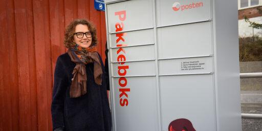 image: Posten innfører «pakkebokser»