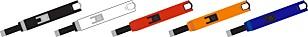 FLERE FARGER: USB-lighterne kan variere i farge. Ifølge importøren er det kun de røde, med «Fagforbund»-logo, som er tilbakekalt. Illustrasjonsfoto: Wenzhou Daqun Smoking Set Factory