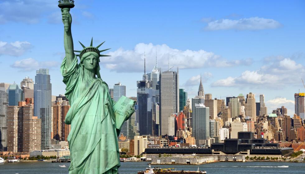 VANLIG REISEMÅL: Å reise tur-retur New York fra Oslo var billigere enn noen gang i 2019, skal vi tro Norsk Flyprisindex. Foto: Shutterstock