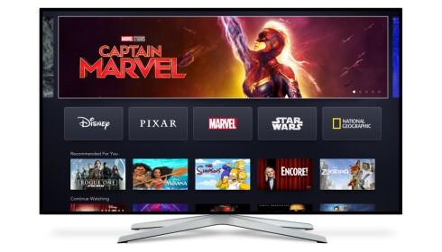 MANGE MULIGHETER: Disney+ blir tilgjengelig på en rekke plattformer, som Apple TV og Chromecast, samt TV-er fra Samsung, LG og Sony. Foto: Disney