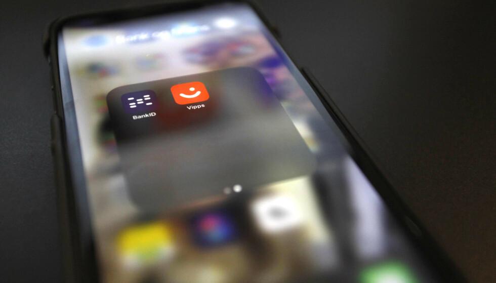 NY APP: Vipps har lansert BankID-appen på Android og iPhone. Foto: Øystein B. Fossum