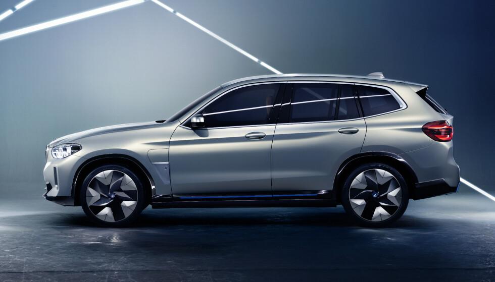 ELEKTRISK: BMW iX3. Foto: BMW