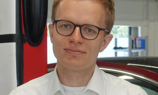 SJU DAGER: Det er ingen kostnader, sier Even Sandvold Roland i Tesla Norge.