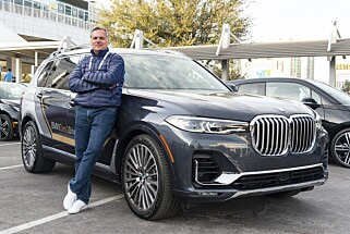 DESIGNER: Olivier Pitrat er designer for BMW og har utviklet X7 ZeroG Lounger. Foto: Jamieson Pothecary
