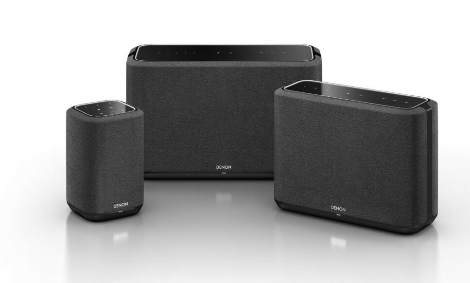 MULTIROM: Denon Home er et attraktivt alternativ til Sonos' multiromhøyttalere. Foto: Denon