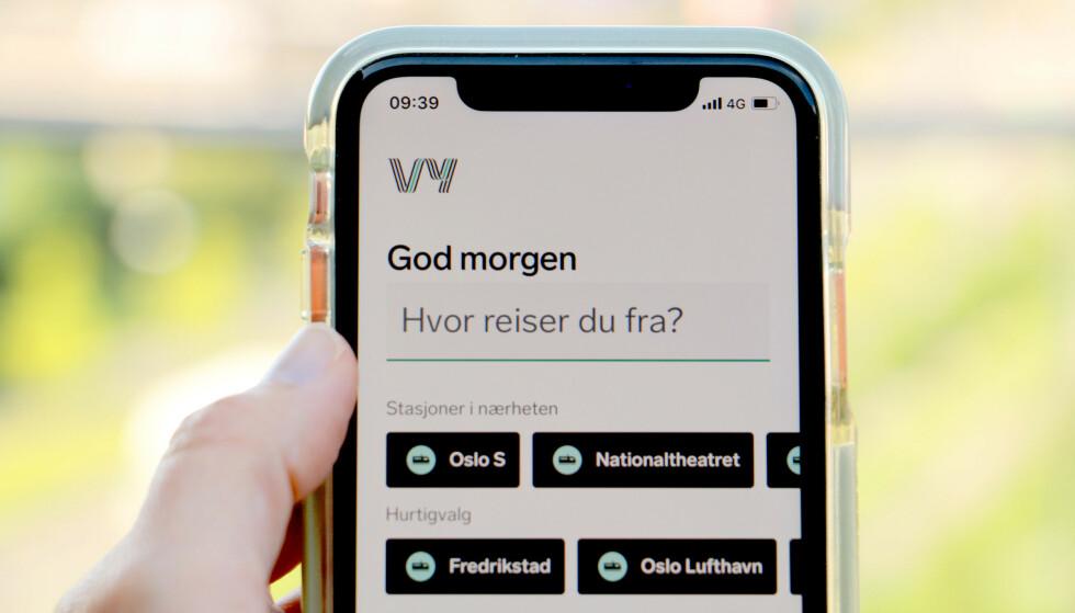 NÅ ØKER VY PRISENE: Fra 1. februar koster det mer å reise med Vy. Da øker de øker alle prisene med 3,1 prosent. Foto: Kristin Sørdal