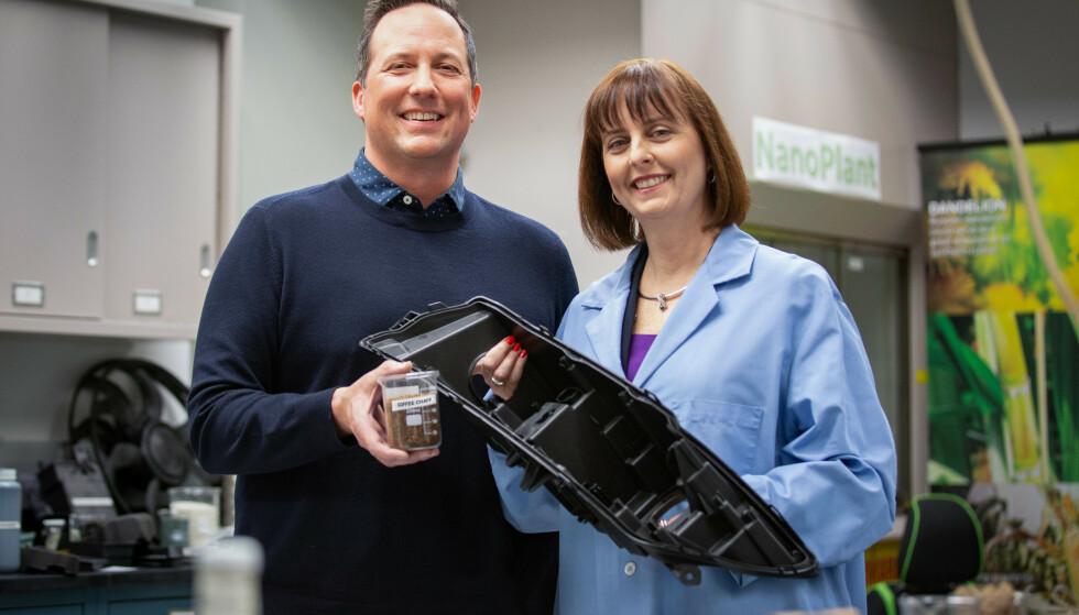 LETTERE OG BEDRE: Det nye materialet er 20 prosent lettere og krever mindre energi når det formes, sier Debbie Mielewski hos Ford.