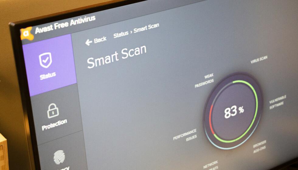 SELGER BRUKERDATA: Amerikanske Motherboard og PCMag har avslørt at antivirusselskapet Avast videreselger innsamlede brukerdata til tredjeparter. Foto: Martin Kynningsrud Størbu
