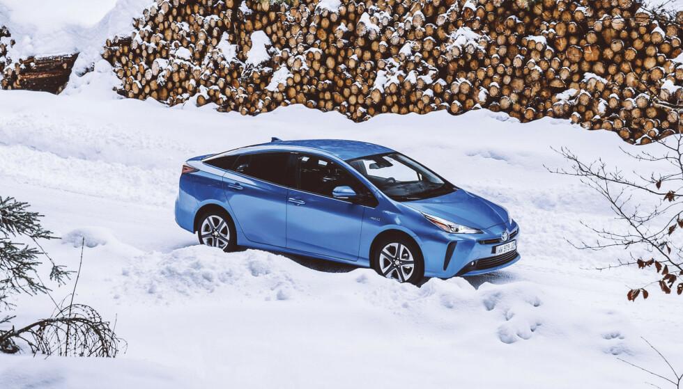 BEST I KLASSEN: Takket være sin satsing på hybridbiler, er Toyota det bilmerket som er nærmest til å klare EUs nye utslippskrav. Foto: Toyota