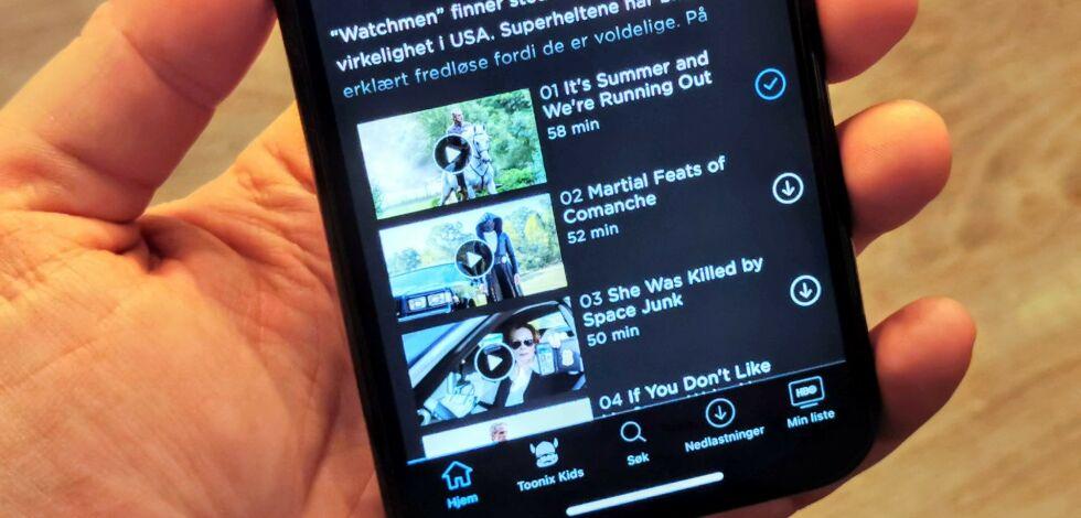 image: HBO Nordic endelig med offline-støtte