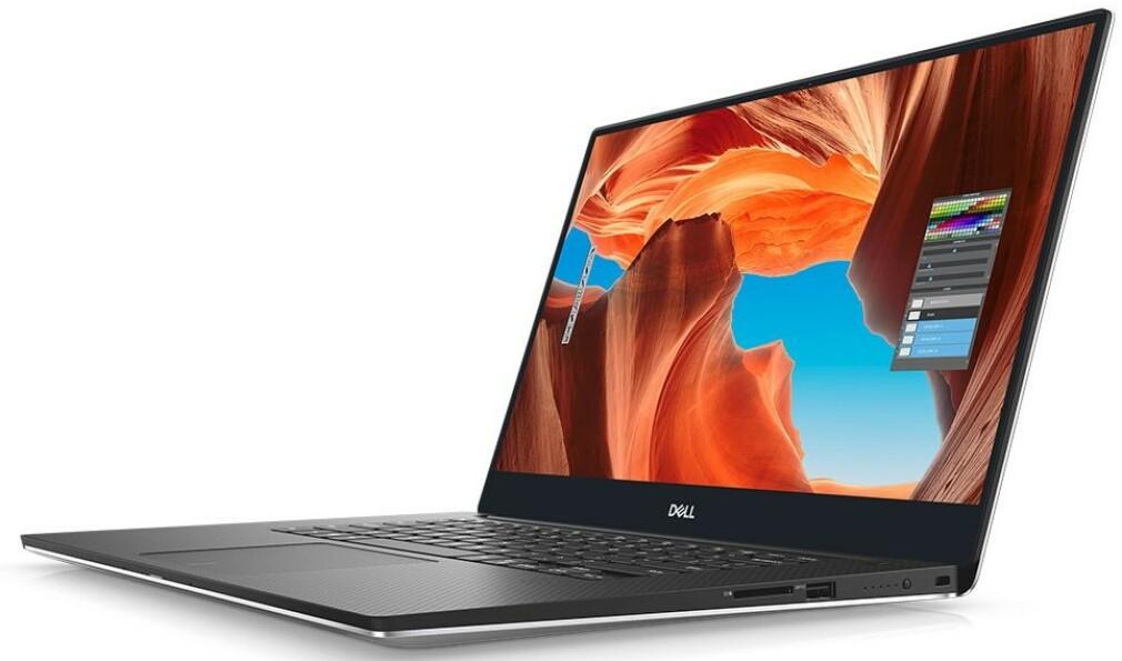 MODERN STANDBY: Dell XPS 15 (7590) er en av PC-ene Notebookcheck har registrert betydelig økt strømforbruk på. Foto: Dell