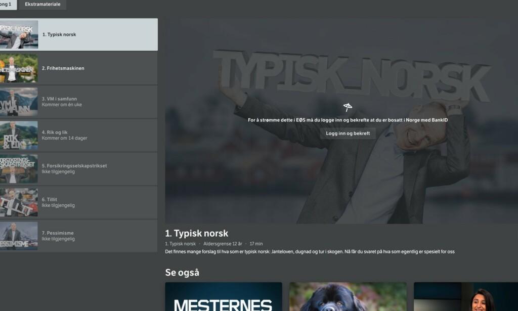 NRK TV: Nå kan du strømme NRK TV på reise i EØS-området. Vi viser deg hvordan du kommer i gang. Foto: Dagbladet