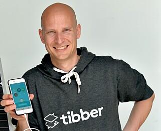 ØNSKER Å FORBY: Edgeir Vårdal Aksnes i Tibber går hardt ut mot telefonsalg. Foto: Tibber