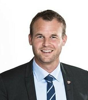 Kjell Ingolf Ropstad, barne- og familieminister. Foto: Astrid Waller