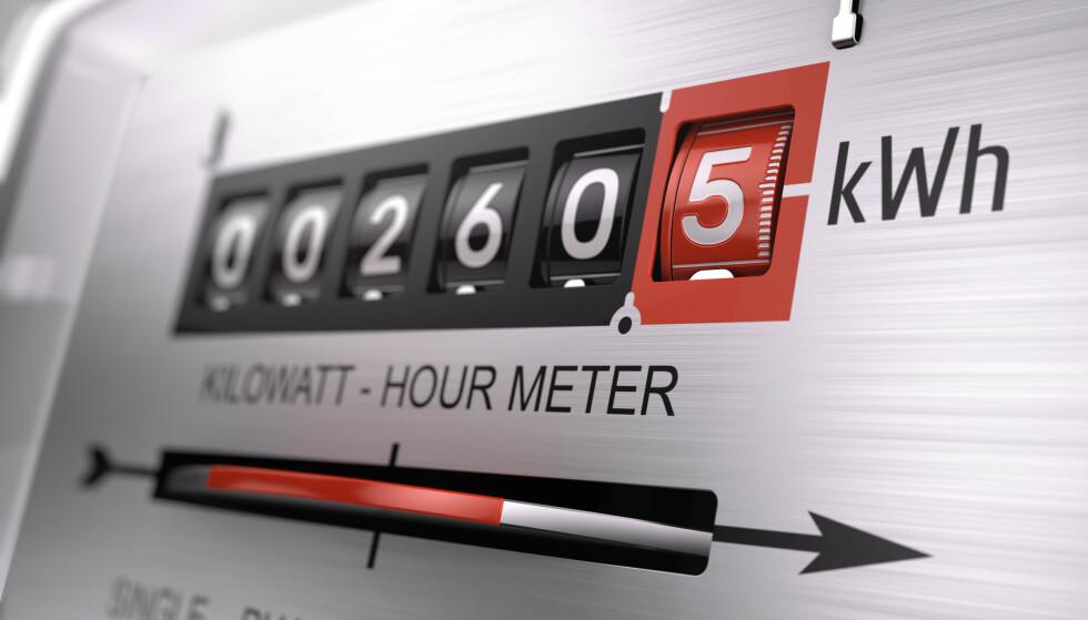 LAVE PRISER: I januar har strømprisene vært under halvparten av hva de var på samme tid i fjor.