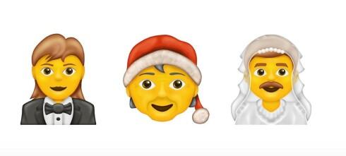 Her er årets nye emojier