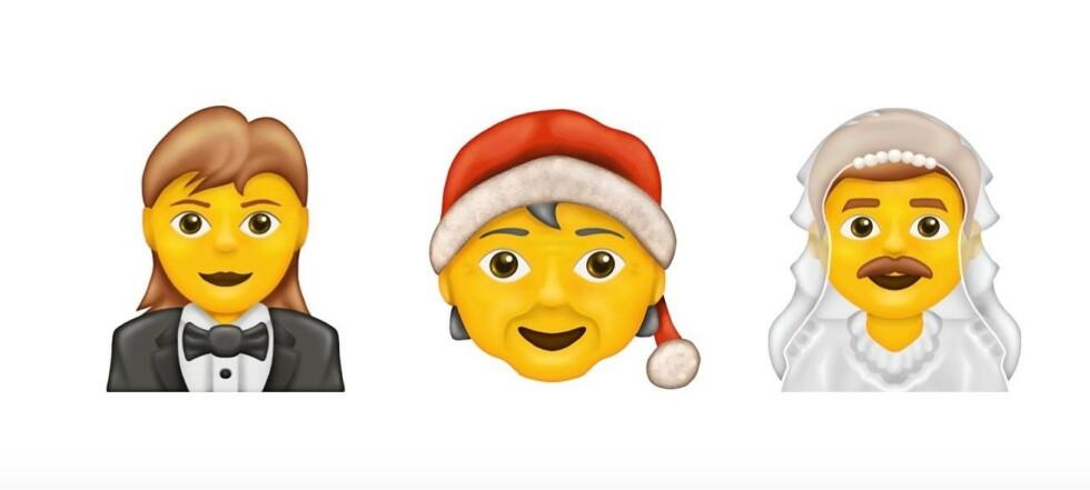 Her er årets 117 nye emojier